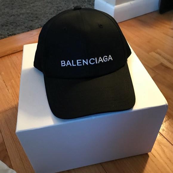 Balenciaga Dad Hat Black
